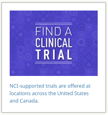 NCI Clinical Trials for Cancer